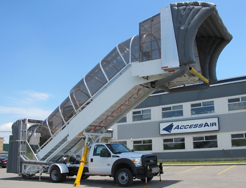 Accessair Truck Mounted Airstairs