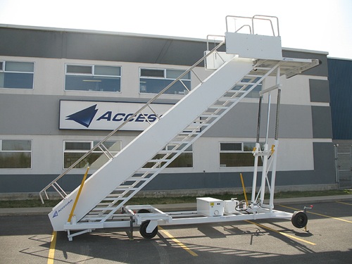 AccessAir Parallelogram and Tilt-Type Airstairs